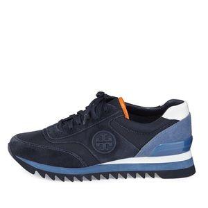 07cbb05ba Tory Burch Shoes - NEW TORY BURCH SAWTOOTH LOGO TRAINER SNEAKERS